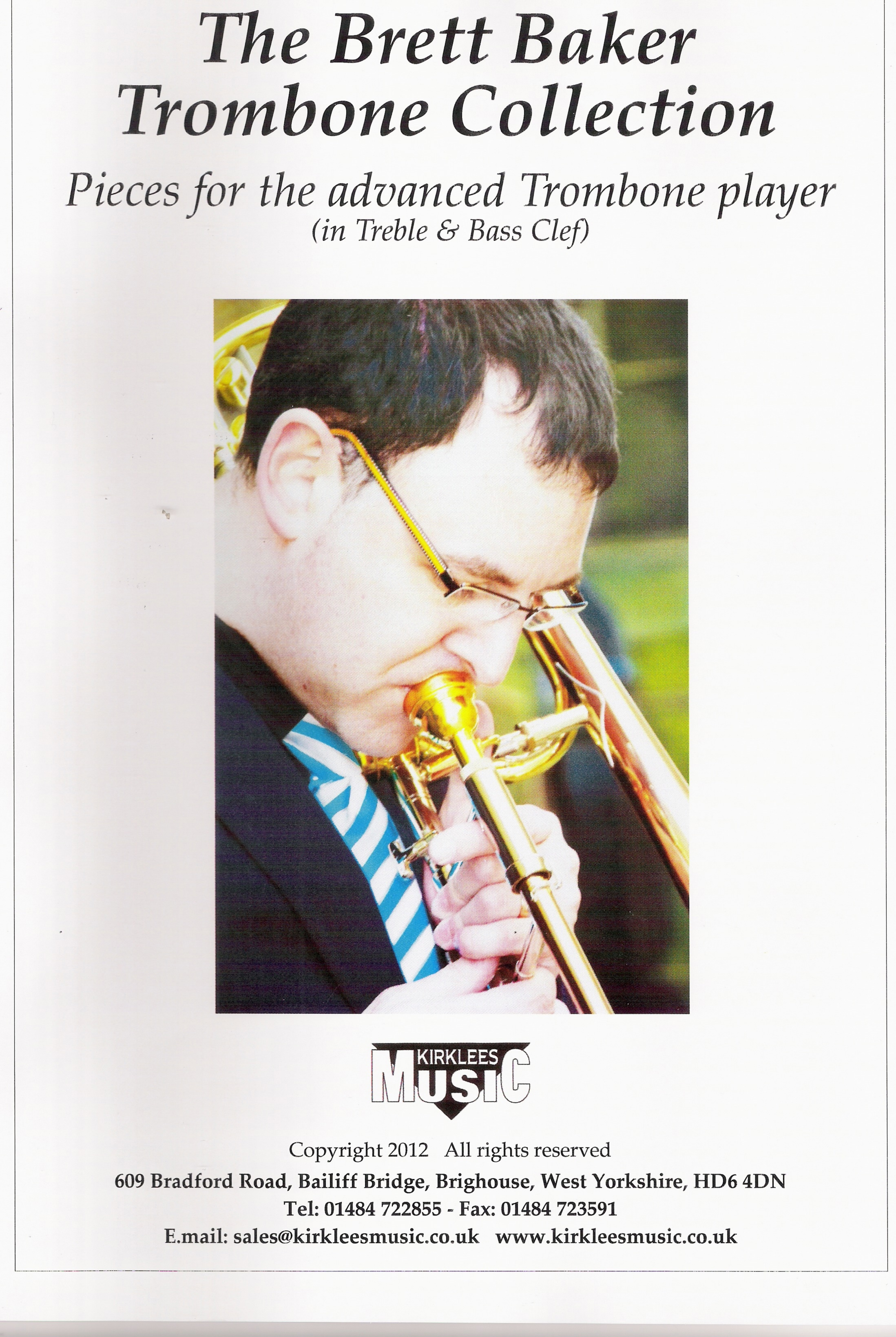 Sheet Music - The Brett Baker Trombone Collection Vol. 1
