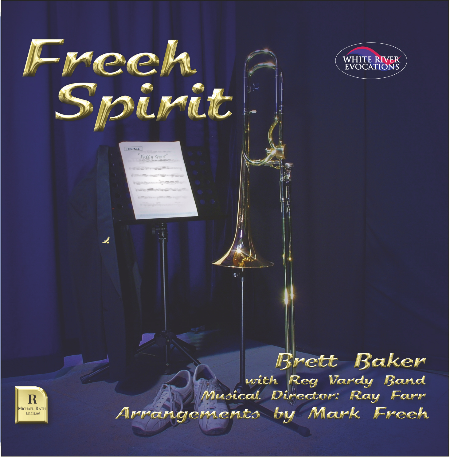 DOWNLOAD - Freeh Spirit Brett Baker (Trombone) with Reg Vardy Band - Click here for separate tracks