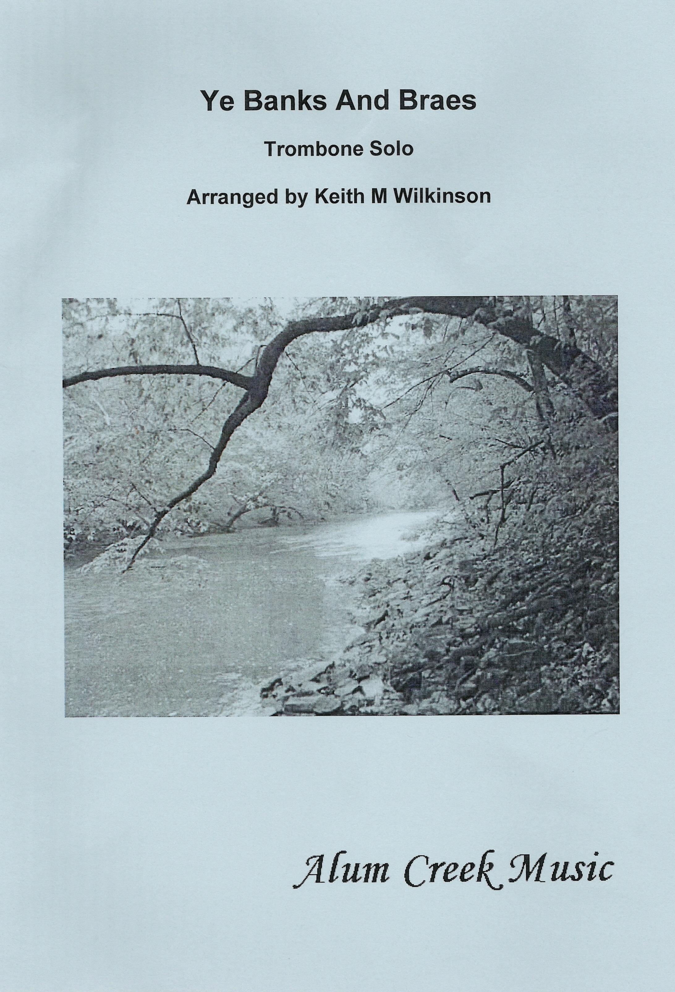 Sheet Music - Ye Banks & Braes arranged Wilkinson