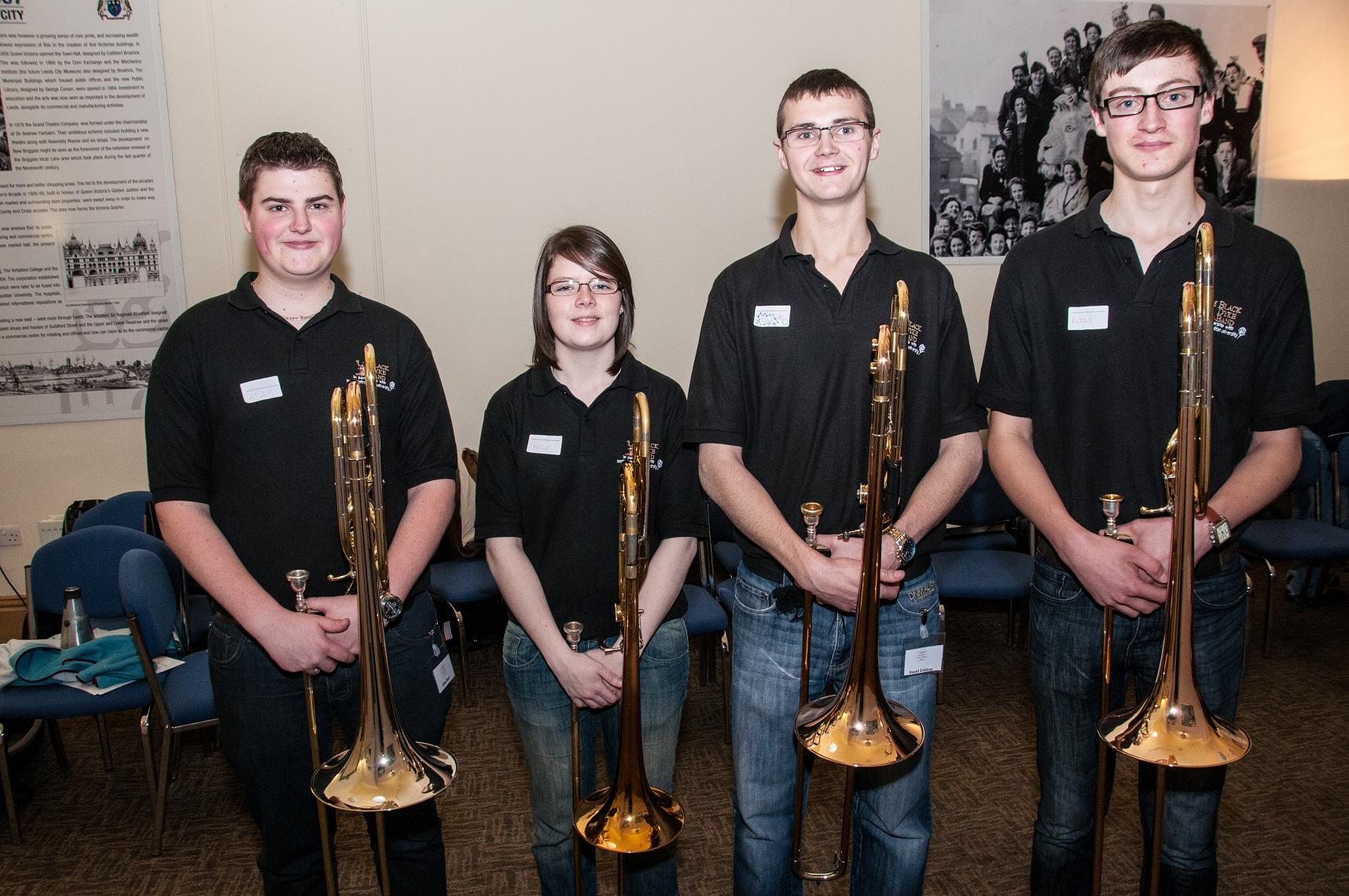 Black Dyke Youth Quartet