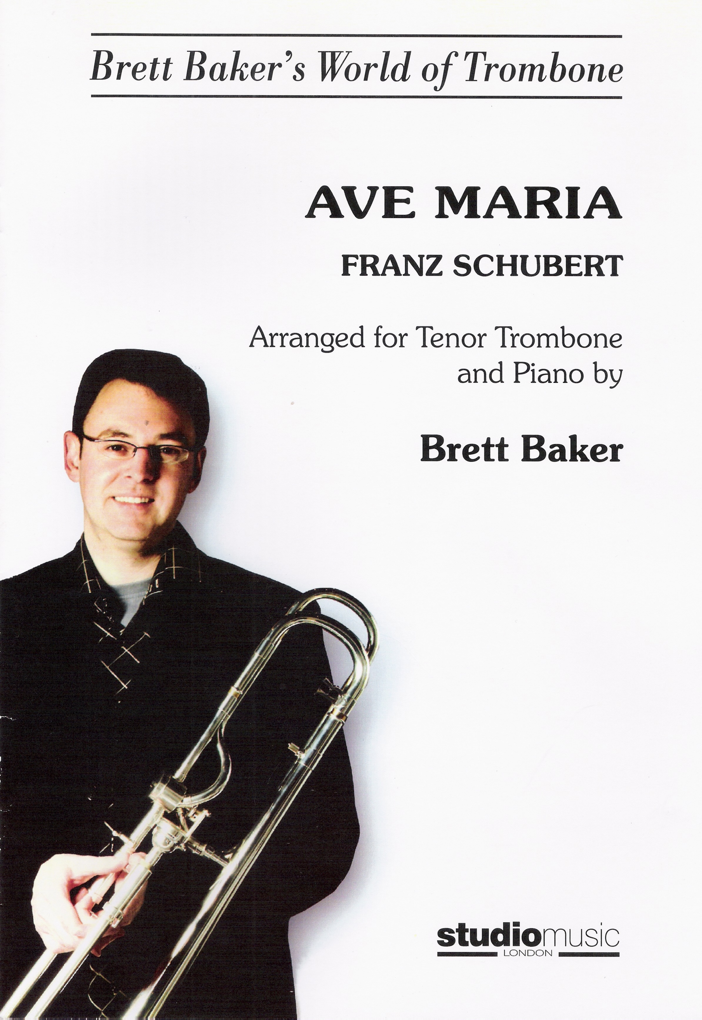 Sheet Music - Ave Maria arranged Brett Baker
