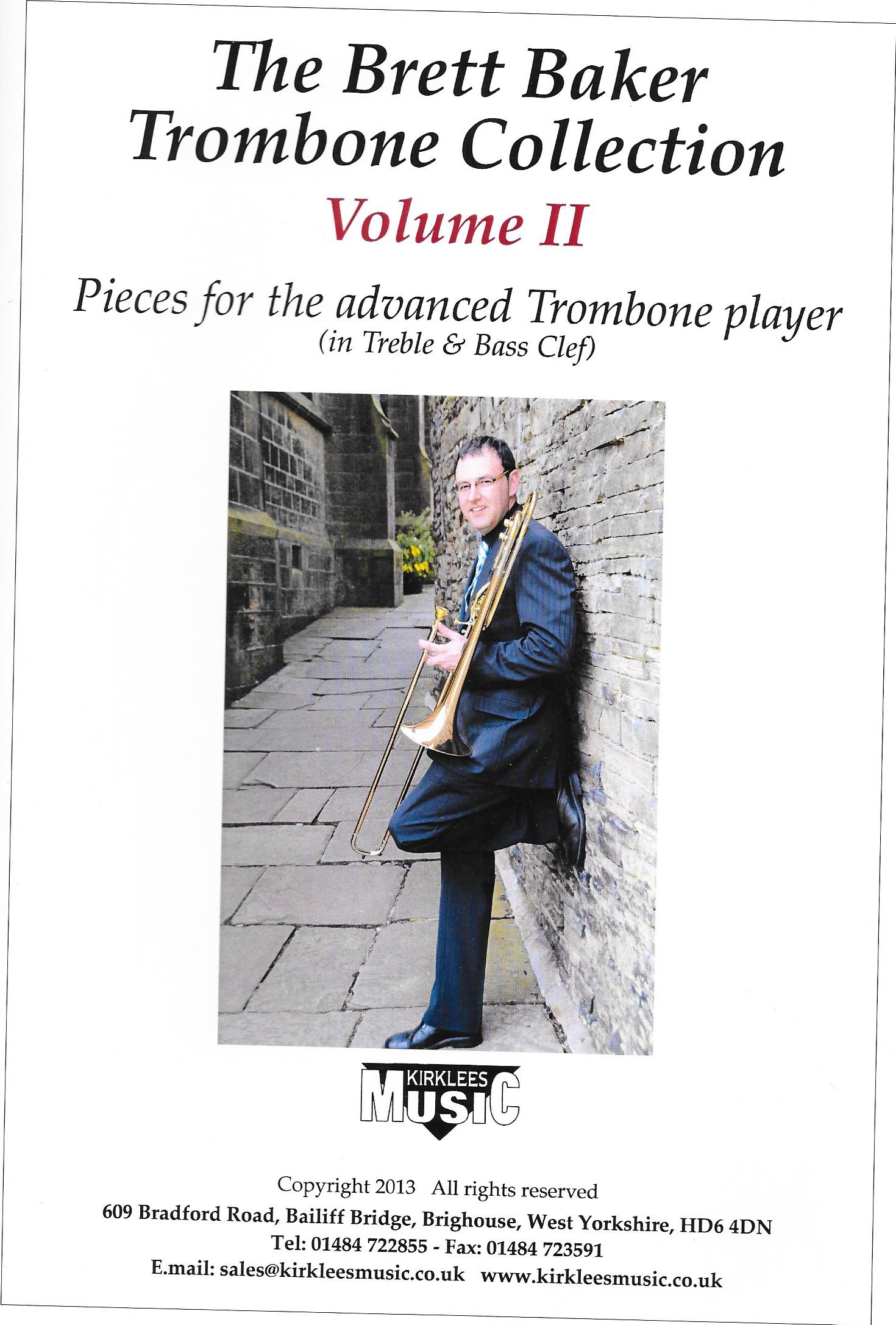 Sheet Music The Brett Baker Trombone Collection Vol. 2
