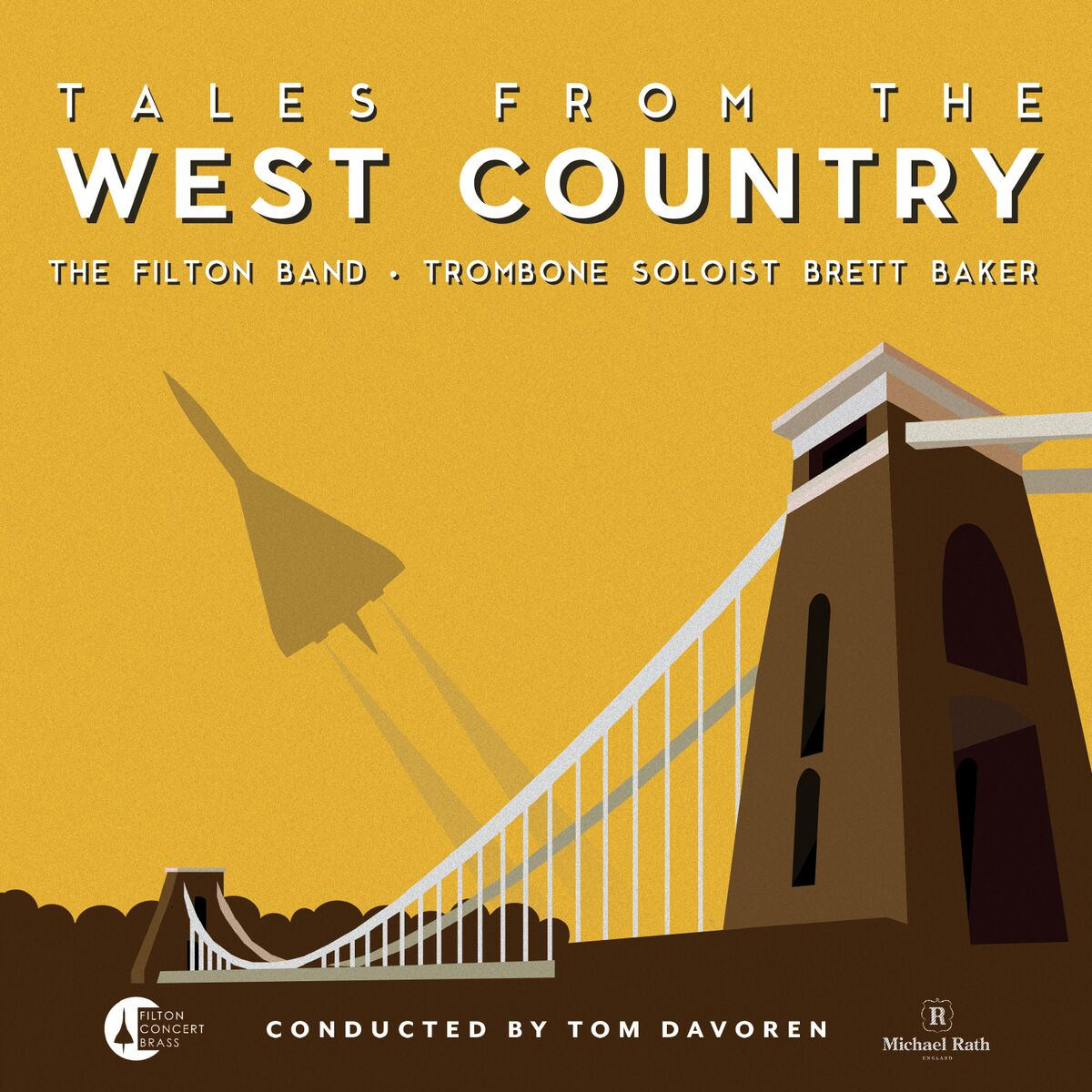PRE ORDER Tales from the West Country Brett Baker (Trombone) & Filton Band