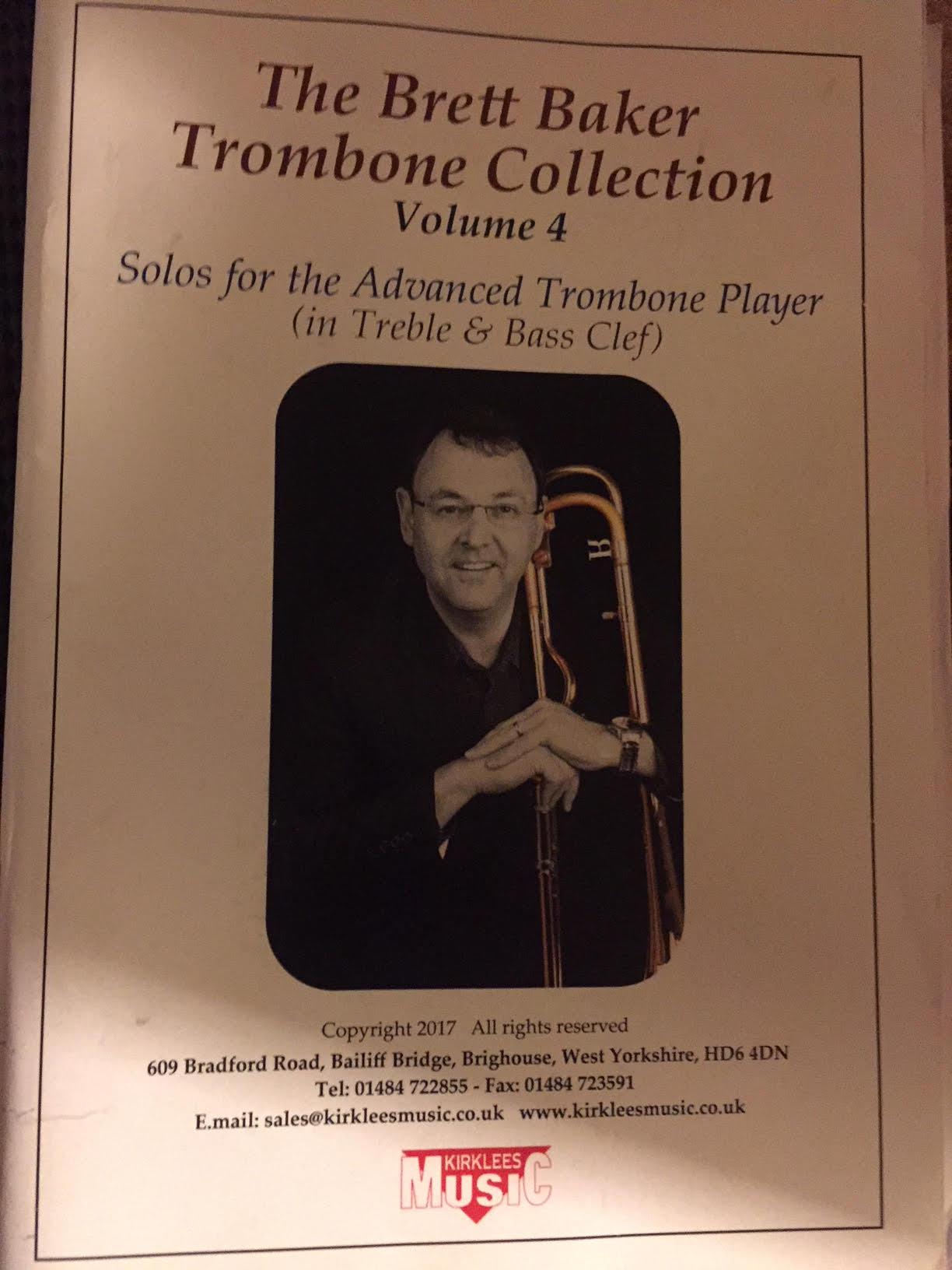 Sheet Music - The Brett Baker Trombone Collection Vol. 4